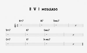 II V I modulado